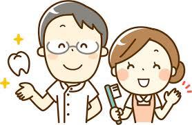 歯科医師と歯科助手イラスト