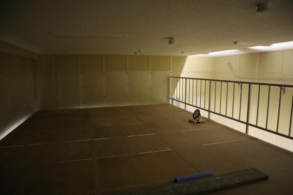 収蔵庫中2階