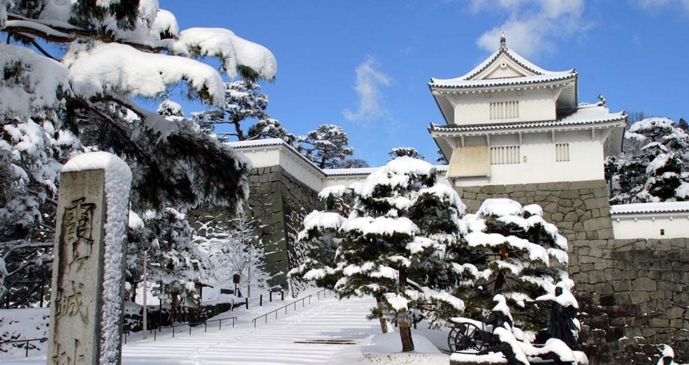 箕輪門の冬