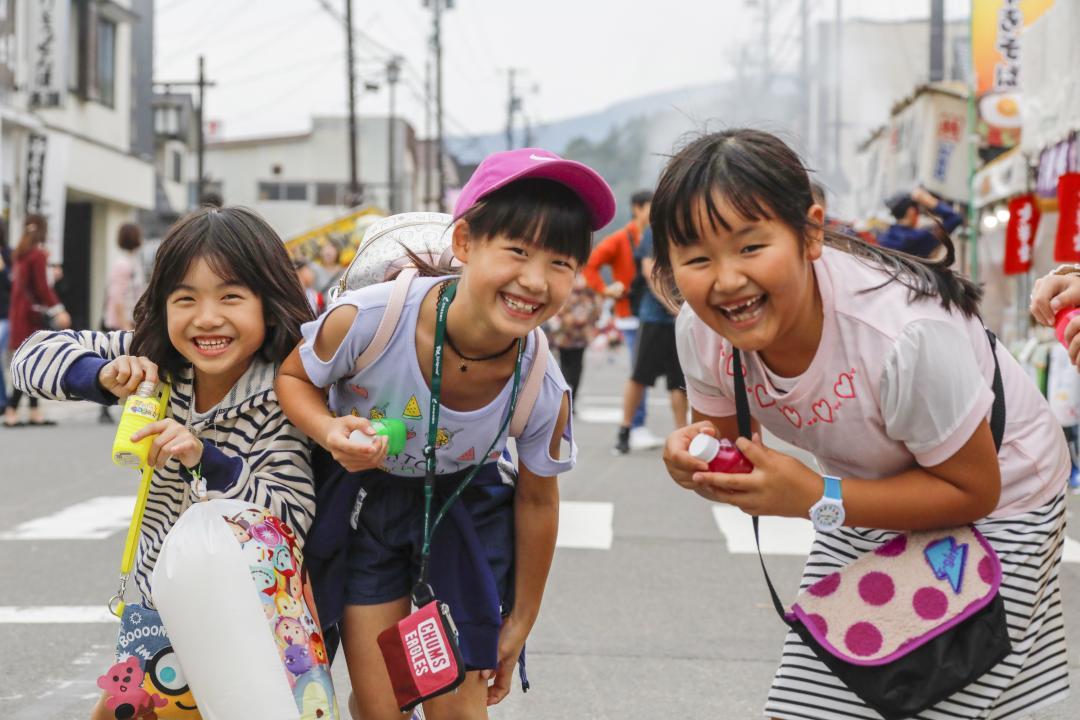 提灯祭り(女の子)