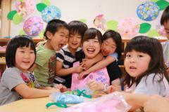 『令和2年度保育所・幼稚園・認定こども園入園受付のお知らせ』の写真