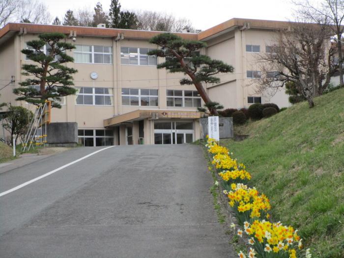 二本松二中校舎写真