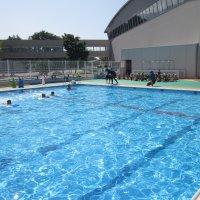 校内水泳記録会が行われました